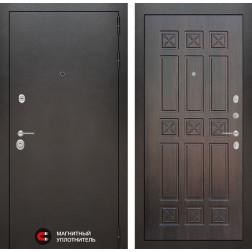 Входная дверь Лабиринт Сильвер 16 (Антик темное серебро / Алмон 28)