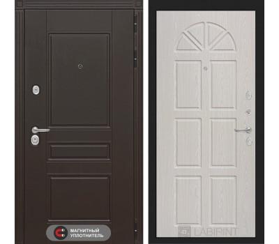 Входная металлическая дверь Лабиринт Мегаполис 15 (Венге / Алмон 25)