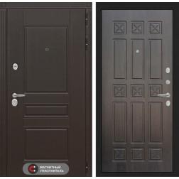 Входная металлическая дверь Лабиринт Мегаполис 16 (Алмон 28)