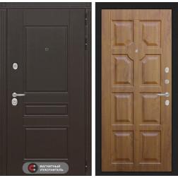 Входная металлическая дверь Лабиринт Мегаполис 17 (Золотой дуб)