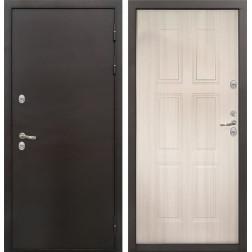 Уличная входная дверь с терморазрывом Лекс Термо Стандарт 3К (Сандал белый)