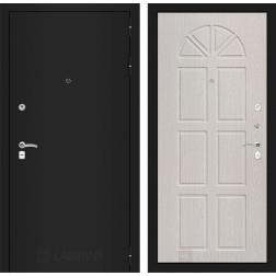 Входная дверь Лабиринт Классик 15 (Шагрень черная / Алмон 25)