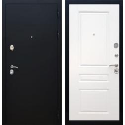 Входная металлическая дверь Армада 5А ФЛ-243 (Черный Муар / Белый софт)