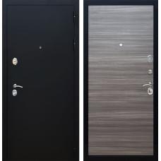 Входная металлическая дверь Армада 5А (Черный Муар / Сандал серый)
