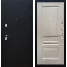 Входная металлическая дверь Армада 5А ФЛ-243 (Черный Муар / Беленый дуб)