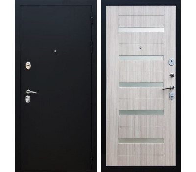 Входная металлическая дверь Армада 5А СБ-14 (Черный муар / Сандал белый)