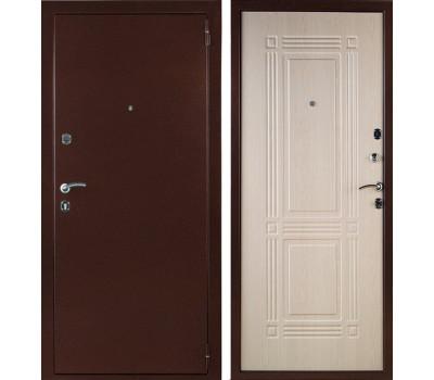 Входная стальная дверь Триумф (Антик медный / Дуб беленый)