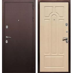 Входная металлическая дверь Армада 5А (Медный антик / Беленый дуб)