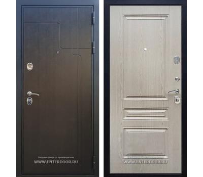 Входная металлическая дверь Армада Премиум 246 ФЛ-243 (Венге / Белёный дуб)