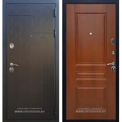 Входная металлическая дверь Армада Премиум 246 ФЛ-243 (Венге / Орех)