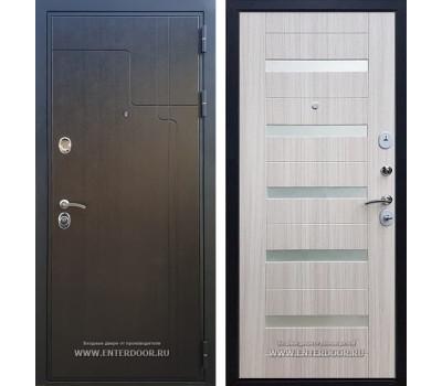 Входная металлическая дверь Армада Премиум 246 СБ-14 (Венге / Сандал белый)