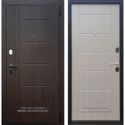 Входная металлическая дверь Армада Сити Люкс (Венге / Сандал белый)