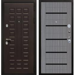 Входная металлическая дверь Армада Триумф СБ-14 (Венге / Лиственница серая)