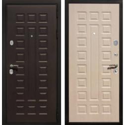 Входная металлическая дверь Армада Триумф 3К (Венге / Беленый дуб)
