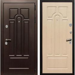 Входная металлическая дверь Армада Эврика 3К (Венге / Дуб беленый)