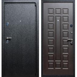 Входная металлическая дверь Армада 3 (Черный крокодил / Венге)
