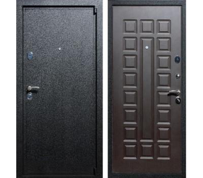 Входная металлическая дверь Армада 3 (Чёрный крокодил / Венге)