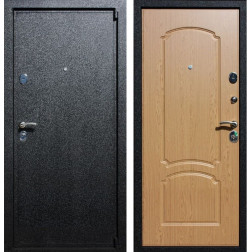 Входная дверь Армада 3 (Черный крокодил / Дуб натуральный)
