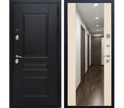 Входная дверь Армада Премиум Н с Зеркалом СБ-16 (Венге / Лиственница беж)