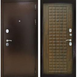 Входная дверь Снедо Титан 3К (Медный антик / Винорит Грецкий орех)