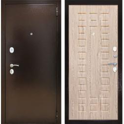 Входная дверь Снедо Патриот 2К (Медный антик / Ель Карпатская)