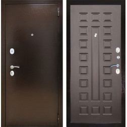 Входная дверь Снедо Патриот 2К (Медный антик / Венге)