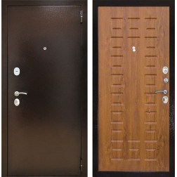 Входная дверь Снедо Патриот 2К (Медный антик / Дуб золотой)