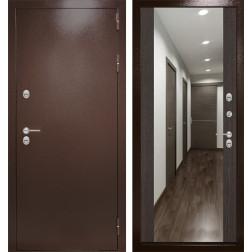 Уличная дверь Лабиринт Термо Магнит с Зеркалом Максимум (Венге)