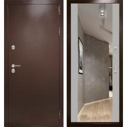 Уличная дверь Лабиринт Термо Магнит с Зеркалом Максимум (Грей софт)
