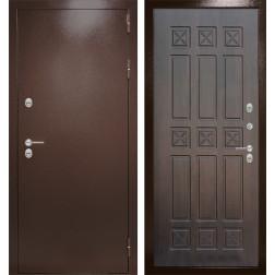 Уличная входная дверь Лабиринт Термо Магнит 16 (Антик медный / Алмон 28)