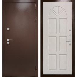 Уличная входная дверь Лабиринт Термо Магнит 15 (Антик медный / Алмон 25)