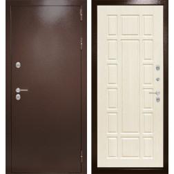 Уличная входная дверь Лабиринт Термо Магнит 12 (Белёный дуб)