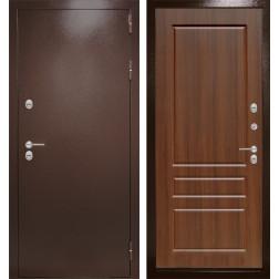 Уличная входная дверь Лабиринт Термо Магнит 3 (Орех бренди)