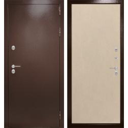 Уличная входная дверь Лабиринт Термо Магнит 5 (Венге светлый)