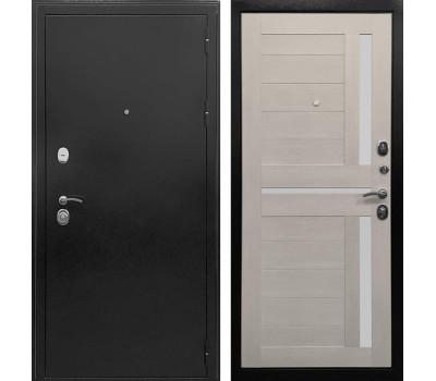 Входная металлическая дверь Ратибор Авангард 3К (Антик Серебро темное / Лиственница беж)