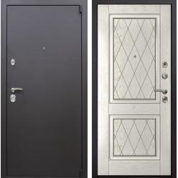 Входная металлическая дверь Квадро 72 (Искра коричневая / Капучино)