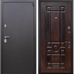 Входная металлическая дверь Квадро Рим (Искра коричневая / Вишня тёмная)