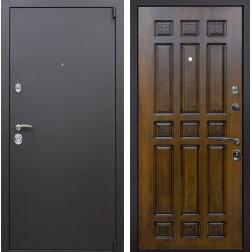 Входная металлическая дверь Квадро Палермо (Искра коричневая / Золотой дуб)