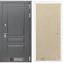 Входная металлическая дверь Лабиринт Платинум 5 (Венге светлый)