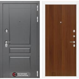 Входная металлическая дверь Лабиринт Платинум 5 (Итальянский орех)
