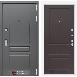 Входная металлическая дверь Лабиринт Платинум 3 (Орех премиум)