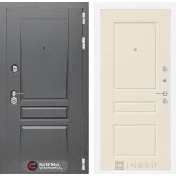 Входная металлическая дверь Лабиринт Платинум 3 (Крем софт)