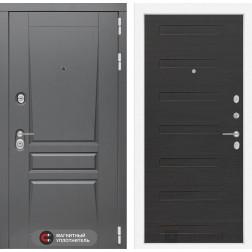 Входная металлическая дверь Лабиринт Платинум 14 (ЭкоВенге)