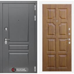 Входная металлическая дверь Лабиринт Платинум 17 (Золотой дуб)