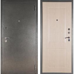 Входная дверь Аргус ДА-15 Абсолют (Серебро антик / Дуб беленый)