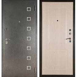 Входная сейф дверь Аргус ДА-15 Даллас (Серебро антик / Дуб беленый)