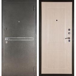 Входная сейф дверь Аргус ДА-15 Франк (Серебро антик / Дуб беленый)