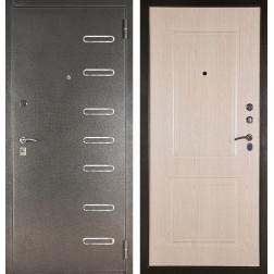 Входная сейф дверь Аргус ДА-15 Элис (Серебро антик / Дуб беленый)