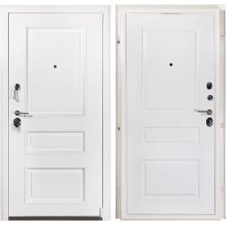 Входная металлическая дверь Райтвер Прадо Муар белый