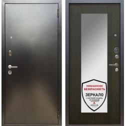 Входная дверь Аргус Люкс ПРО Милли с Зеркалом (Серебро антик / Венге)